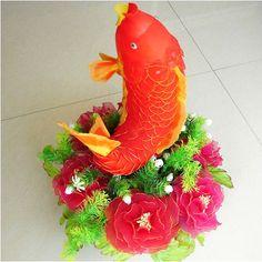 Photo gallery, Made from mesh nylon: Fish, (nvp000014)