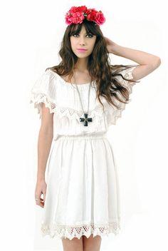 amazing summer crochet dress.