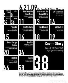 Brilliant Magazine Table Of Contents Design 43 Magazine Layout Design, Book Design Layout, Page Design, Design Design, Magazine Layouts, Graphic Design, Design Concepts, Design Ideas, Editorial Layout