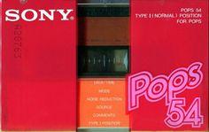 """Sony Cassette """"Pops 54"""" (1981)"""