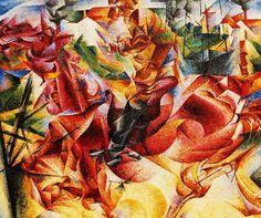 """Umberto Boccioni (1882 - 1916), """"Elasticity"""", 1912."""
