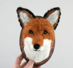 Faux Taxidermy Fox Vulpes vulpes by GrohArtifact on Etsy