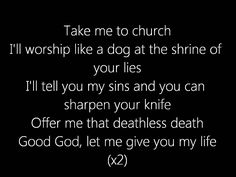 Hozier - Take Me To Church Lyric Video--Enda Kenny says it's his favorite Hozier song. ;-)