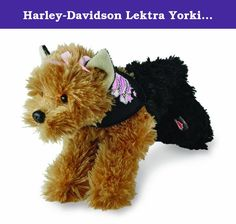 Harley-Davidson Lektra Yorkie Kids Preferred. This delightful Harley Davidson plush toy will let you hang on to those happy Harley memories long after the engines have stopped. Perfect gift for your favorite Harley rider or baby biker to be. Officially Licensed Harley-Davidson Product.
