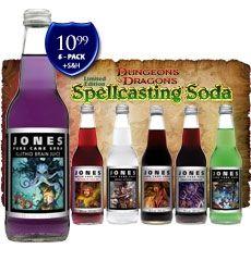 "Dungeons & Dragons ""Spellcasting Soda"" by Jones Soda"