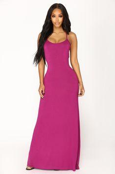 Put Your Love On Me Dress - Magenta