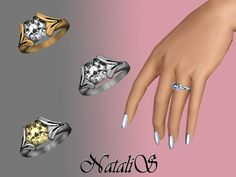 NataliS' Diamond Engagement Ring 001 FA-FE