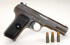 TT33 chambered for the 7.62x25mm Tokarov cartridge.