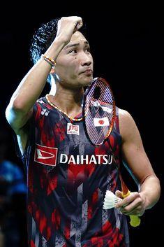 Kento Momota of Japan celebrate after defeating Daren Liew of. Badminton Match, Badminton Photos, Badminton Logo, Badminton Sport, Youth Olympic Games, Sport Park, Sports Stars, World Championship, My Passion
