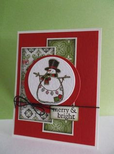 Ready to Hang the Lights! by stampin'nana - Cards and Paper Crafts at Splitcoaststampers