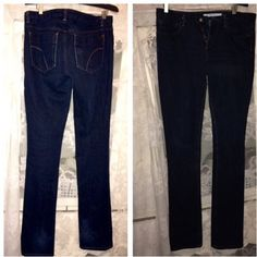 """Joes Jeans """"cigarette style"""" Dark wash, size 27.. I'm 5 3 and they're too long on me! Great condition Joes jeans  Jeans Skinny"""