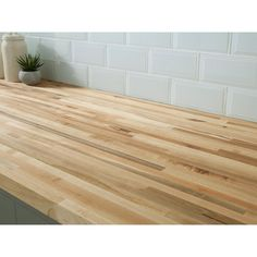American Maple Butcher Block Countertop 12ft