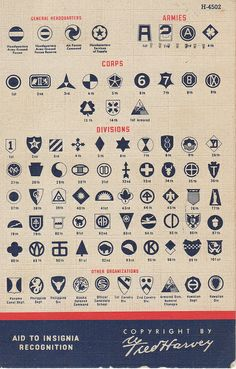 WWII US Army Insignia Recognition Aid - useful when looking at old military photos Military Ranks, Military Service, Military Life, Military History, Army Service Uniform, Military Humor, Military Photos, Military Uniforms, Us Army Insignia