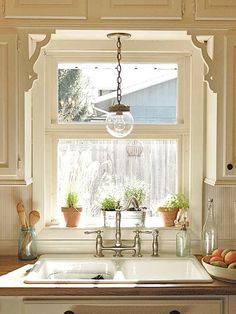 Having a home lacking interest and personality? Create architectural appeal by adding some shelf brackets over windows or doorways. This gives a traditional touch to your home, making it more visually interesting.