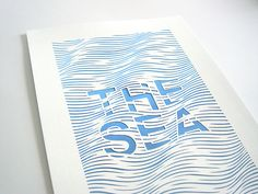 the sea.  http://www.etsy.com/listing/102111716/the-sea-handmade-abstract-papercut