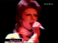 """David Bowie - Ziggy Stardust (live 1973) Let's Celebrate """"David Bowie Is"""" at the Victoria and Albert Museum."""