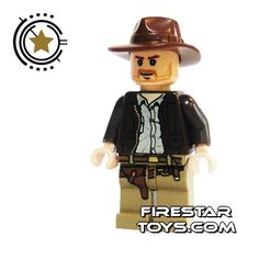 LEGO Indiana Jones Minifigure - Indiana Jones