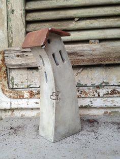 miniature ceramic house by VGCLAYART on Etsy