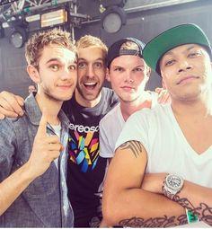 Zedd, Calvin Harris, Avicii, Chuckie