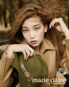 The Autumn Wind, Marie Claire Korea September 2013