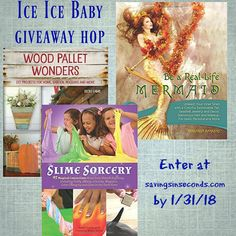Snow Day Activities for the Kids #giveaway 3 books from Ulysses Press  #slime #slimerecipe #woodpallet #mermaid #mermaidhair