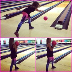 The only way to bowl... Match your ball with your pants