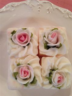 Petit four bath bombs at Pure Home Couture...