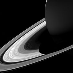 Cassini: The Grand Finale: Short Shadow
