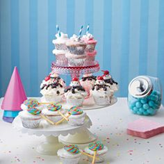 Sweet Shop cupcakes