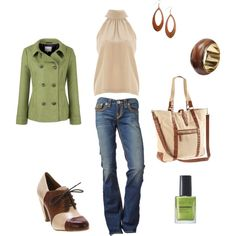 Earthy Tones, created by zingy0926.polyvore.com