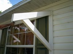 Yawning Over Your Awning DIY Awnings On The Cheap
