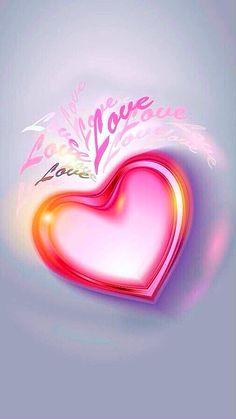 Funny Iphone Wallpaper, Heart Wallpaper, Love Wallpaper, Cellphone Wallpaper, Wallpaper Backgrounds, Love Heart Images, Love Heart Gif, Love You Images, Heart Art