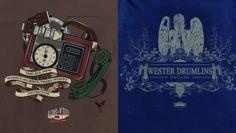 Tenth Doctor designs by Dark Bunny Tees
