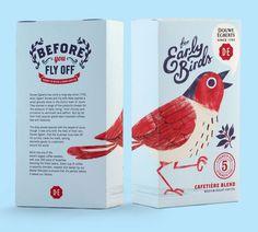 Early Bird Coffee Blend #packaging