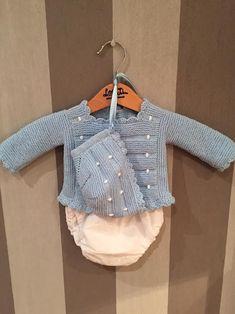b63cb782d Výsledok vyhľadávania obrázkov pre dopyt como hacer chaquetitas de bebe  hechas a mano Chaqueta Bebe Punto