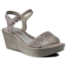 Sandále CLARA BARSON - WS6002-1 Sivá