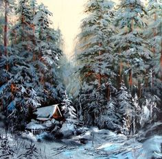 Winter etude by Lednev Alexander.: