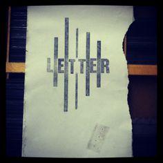 alan kitching typography workshop