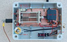 ArduiTuner This project describes an ARDUINO based automatic antenna tuner, for an end fed half wave (EFHW) antenna, dual band for 20 & 40m.