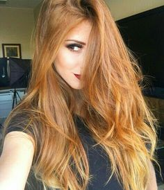 Burgundy Brown - 40 Red Hair Color Ideas – Bright and Light Red, Amber Waves, Ginger Hair Color - The Trending Hairstyle Light Red Hair, Light Auburn Hair, Light Copper Hair, Copper Red, Ginger Hair Color, Red Hair Color, Beautiful Red Hair, Pinterest Hair, Dyed Hair