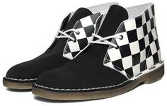 I know you all love a mod-related fashion talking point, so the Clarks Desert Boots - Ska Edition should keep you going for a little while. Clarks Originals Desert Boot, Clarks Desert Boot, Desert Boots, Men S Shoes, Your Shoes, Skinhead Fashion, Cheap Kids Clothes, Kids Clothing Brands, Shoe Company