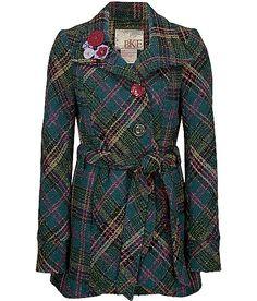 BKE Mixed Button Coat