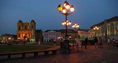 Union Square in Timisoara