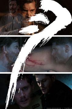 [gifset] Mark of Cain - Dean