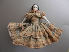 "Antique China Doll - 6"" ca. 1870"