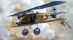 Albatros D.I Lt. Spitzhoff, by Taras Shtyk