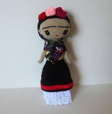 Resultado de imagen para frida kahlo crochet patron