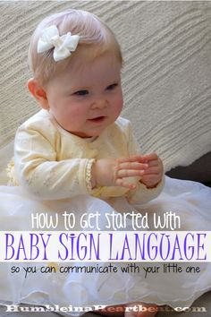 Baby sign language has so many great advantages and it's super easy to learn and teach. Get started today with this list of great resources you and your baby will love! baby breastfeeding baby infants baby quotes baby tips baby toddlers Gentle Parenting, Kids And Parenting, Parenting Tips, Teaching Babies, Baby Learning, Teaching Baby Sign Language, Baby Sign Language Chart, Baby Language, Learning Games