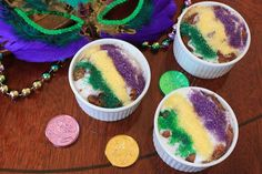 King Cake Bread pudding and so many more LA recipes