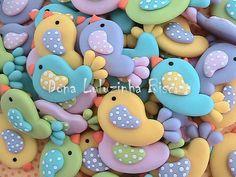 Muitos passarinhos fofos